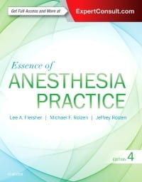Essence of Anesthesia Practice, 4th Edition