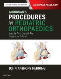Tachdjian's Procedures in Pediatric Orthopaedics, 1st Edition