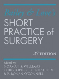 Bailey & Love's Short Practice of Surgery 26E